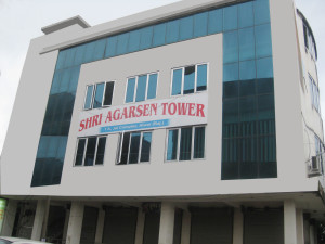 Shri Agarsen Tower in Jai Complex, Alwar